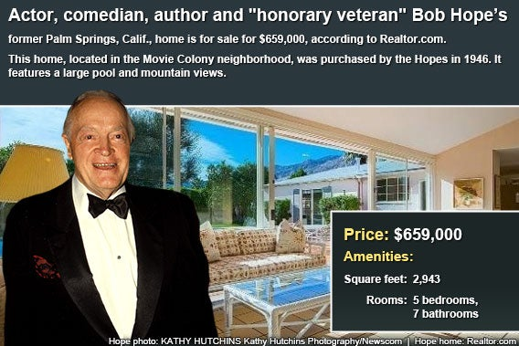 Celebrity house for sale: Bob Hope