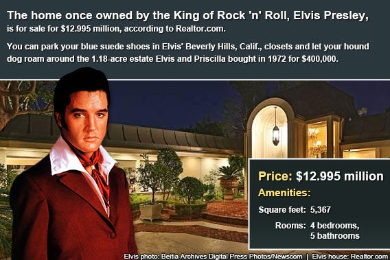Celebrity house for sale: Elvis