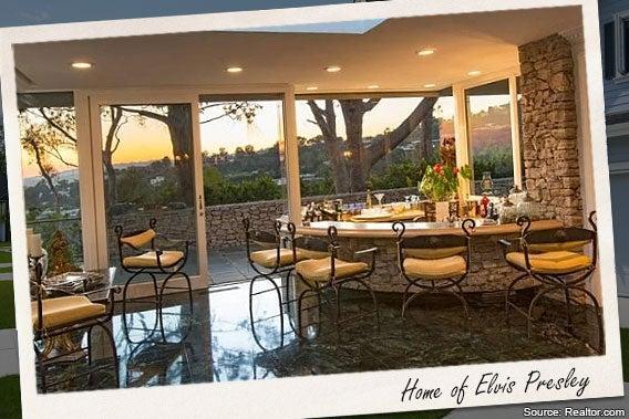 celebrity house for rent elvis