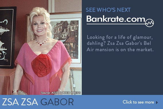 See who's next: Zsa Zsa Gabor