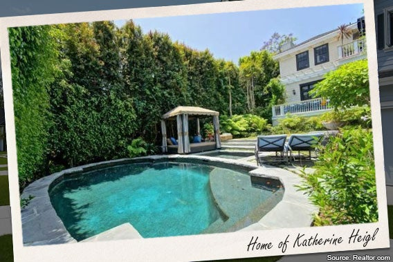 Celebrity house for sale katherine heigl for Los angeles homes for sale with pool