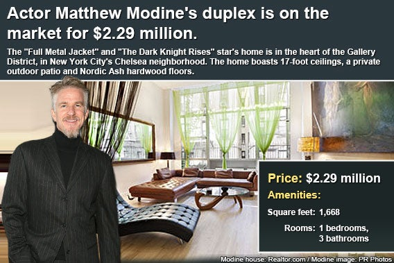 Celebrity house for sale: Matthew Modine