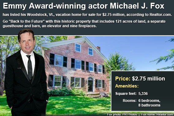 Celebrity house for sale: Michael J. Fox