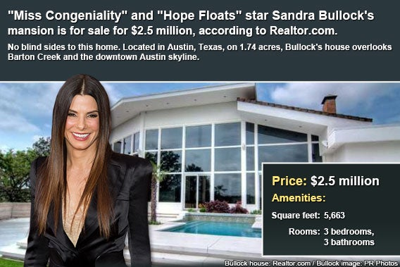 Celebrity house for sale: Sandra Bullock