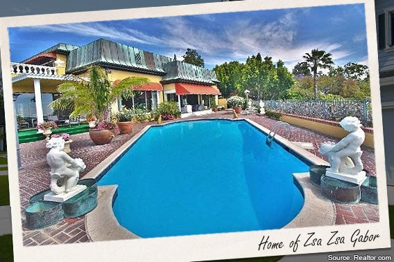 Celebrity House For Sale Zsa Zsa Gabor