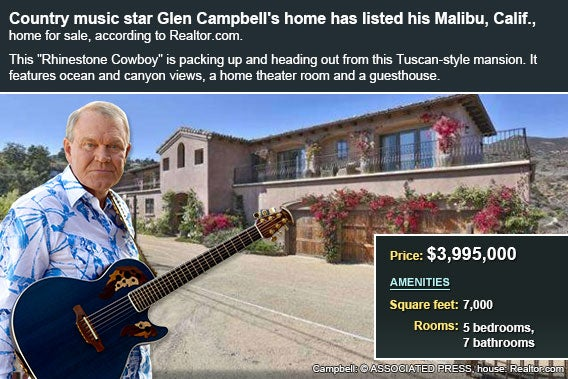 Glen Campbell house for sale