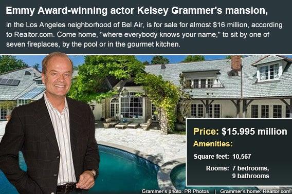 Celebrity house for sale: Kelsey Grammer