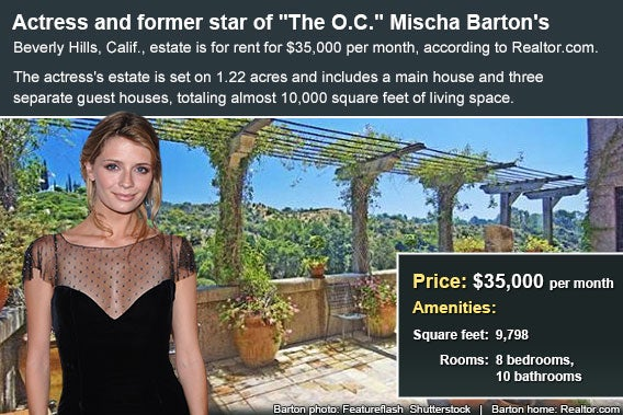 Celebrity house for rent: Mischa Barton