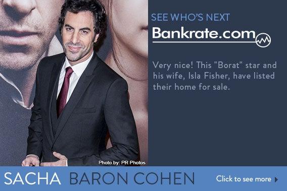 See who's next: Sacha Baron Cohen