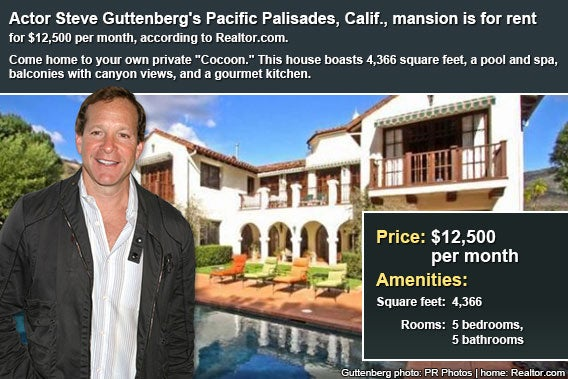 Celebrity house for rent: Steve Guttenberg