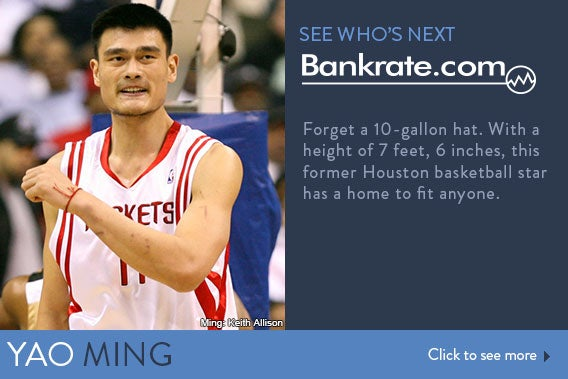 See who's next: Yao Ming