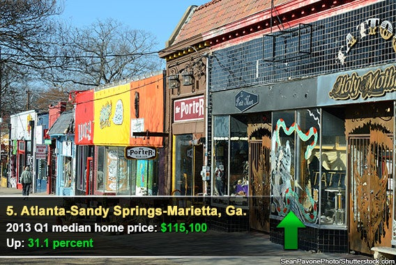5. Atlanta-Sandy Springs-Marietta, Ga.