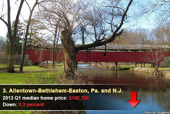 3. Allentown-Bethlehem-Easton, Pa. and N.J.