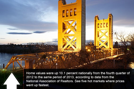 Home values: 5 best markets for Q4 2013 © imging/Shutterstock.com
