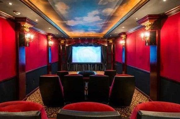 Home theatre, Celebrity house for sale: Realtor.com