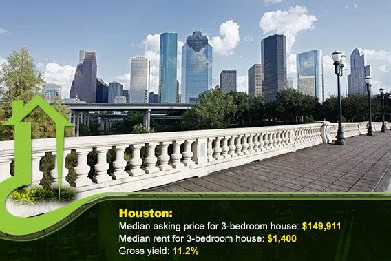 Houston © VanHart/Shutterstock.com, vector: © tachyglossus/Shutterstock.com, bottom overlay: © Sorbis/Shutterstock.com