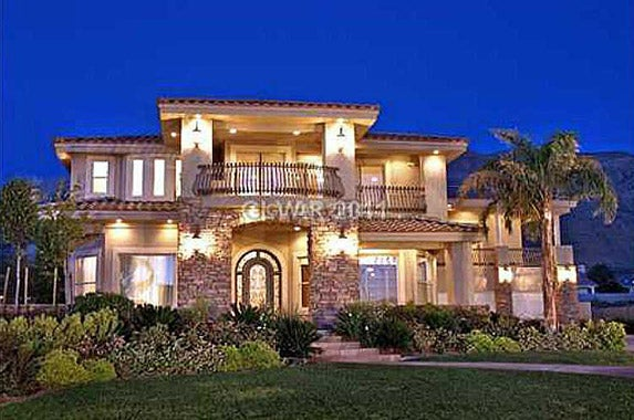 Million dollar homes how much house can you get for 1 for Million dollar homes for sale in las vegas