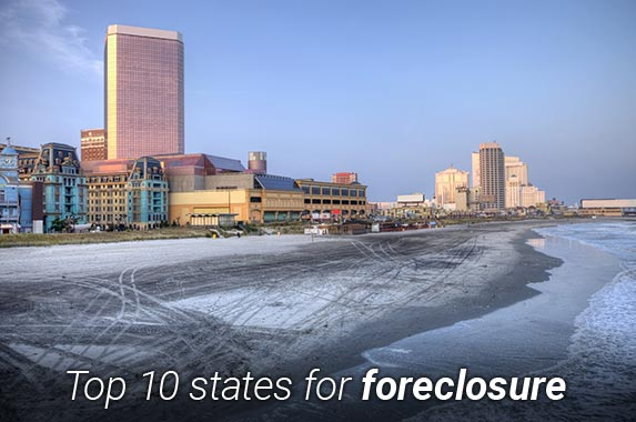 Top 10 states for foreclosure | DenisTangneyJr/E+/Getty Images