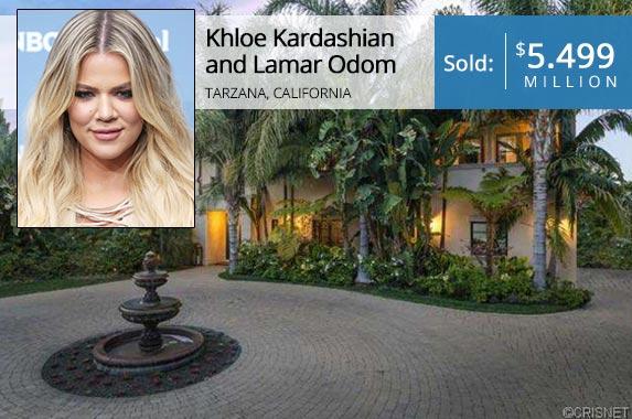 Khloe Kardashian   Walter McBride/Getty Images; House: Realtor.com