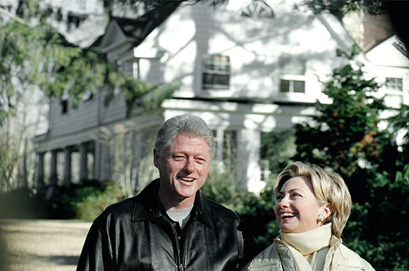 Homes Of Donald Trump And Hillary Clinton