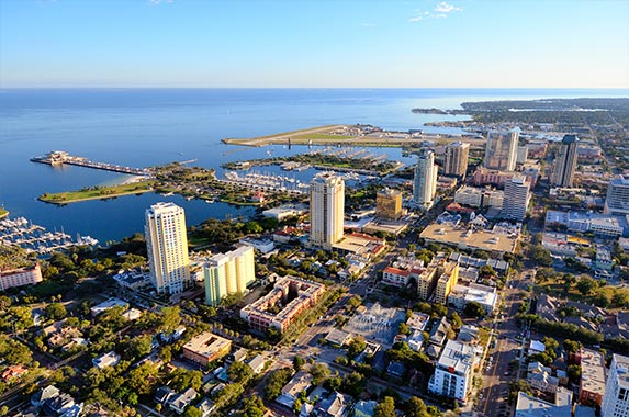 2. Tampa-St. Petersburg-Clearwater, Florida © ESB Professional/Shutterstock.com