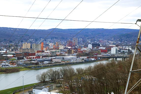 Binghamton, New York | WILLIAM EDWARDS/AFP/Getty Images
