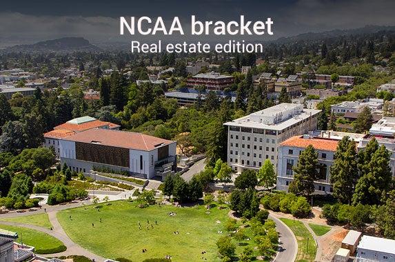 Ncaa bracket based on hottest real estate markets for Hot real estate markets