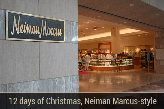 12 days of christmas neiman marcus style for Neiman marcus christmas cards