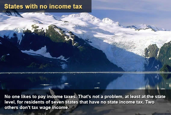 9 states with no income tax