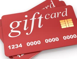 Gift cards that don't self-destruct