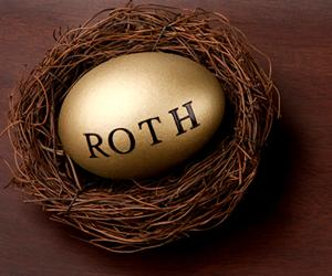 Gold Roth IRA egg in retirement nest