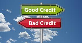 Good credit, bad credit signs  cirquedesprit - Fotolia.com