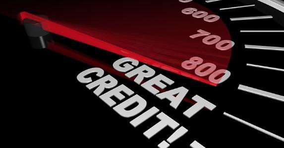 Credit score gauge © iQooncept/Shutterstock.com