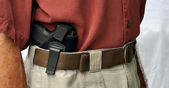 Concealed weapon © Chuck Wagner/Shutterstock.com