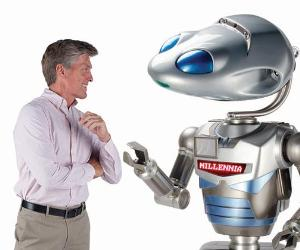 Robot avatar | Photo courtesy of Hammacher Schlemmer's