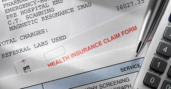 Health insurance claim form | iStock.com/DNY59