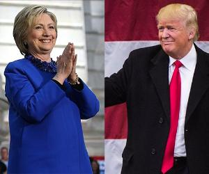 Hilary Clinton and Donald Trump   Justin Sullivan/Getty Images, The Washington Post/Getty Images