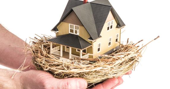 House inside of a nest © iStock
