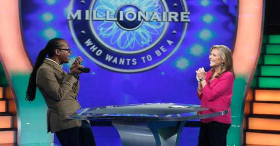 Media still from the TV show 'Who wants to be a millionaire?' | Heidi Gutman/Getty Images