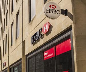 HSBC Bank branch © mikecphoto/Shutterstock.com