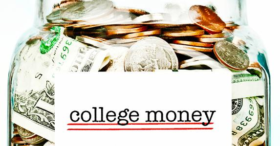 Jar of college money © iStock