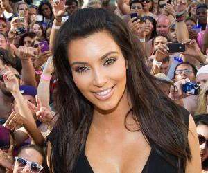Kim Kardashian hosts a pool party at Hard Rock Hotel and Casino © Erik Kabik/Retna Ltd./Corbis