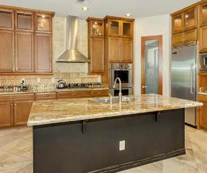 Kitchen in a Phoenix Arizona house listing