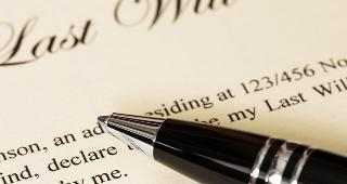 Last will and testament © Casper1774 Studio/Shutterstock.com