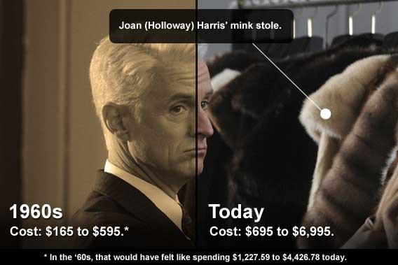 Joan's mink stole