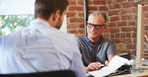 Interviewing for a job © iStock
