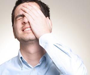 Man realizing mistake © Ioannis Pantzi/Shutterstock.com