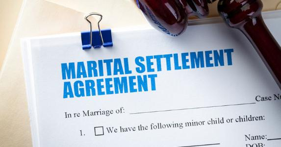 Marital settlement agreement © iStock