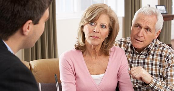 Mature couple listening to advisor  © Monkey Business - Fotolia.com