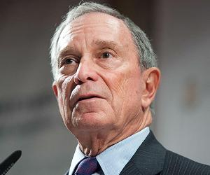Michael Bloomberg © Omer Messinger/NurPhoto/Corbis